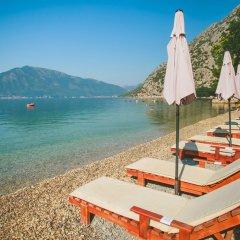 Отель Casa del Mare - Amfora Черногория, Доброта - отзывы, цены и фото номеров - забронировать отель Casa del Mare - Amfora онлайн пляж фото 2