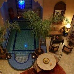 Отель Riad Lapis-lazuli Марракеш бассейн