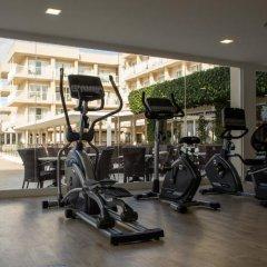 Hotel Club Sur Menorca Сан-Луис фитнесс-зал фото 3