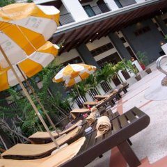 Отель Mike Garden Resort бассейн фото 3
