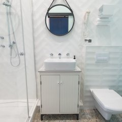 Отель Bliss Apartaments San Francisco Польша, Познань - отзывы, цены и фото номеров - забронировать отель Bliss Apartaments San Francisco онлайн ванная