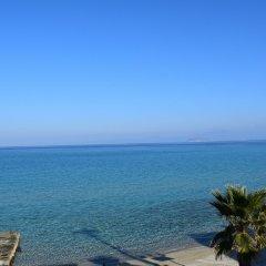 Отель Myrto пляж
