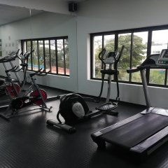 Torre De Cali Plaza Hotel фитнесс-зал фото 2