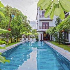 Отель Green Hill Villa Хойан бассейн фото 3