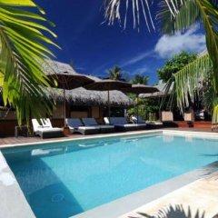Отель Green Lodge Moorea Французская Полинезия, Папеэте - отзывы, цены и фото номеров - забронировать отель Green Lodge Moorea онлайн бассейн фото 3