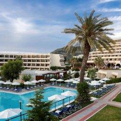 Отель smartline Cosmopolitan Hotel Греция, Родос - отзывы, цены и фото номеров - забронировать отель smartline Cosmopolitan Hotel онлайн бассейн