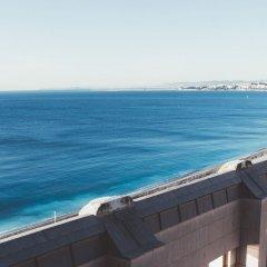 Отель Hyatt Regency Nice Palais De La Mediterranee Ницца пляж фото 2