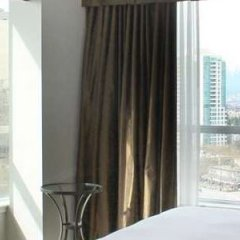 Отель Hilton Vancouver Metrotown Канада, Бурнаби - отзывы, цены и фото номеров - забронировать отель Hilton Vancouver Metrotown онлайн балкон