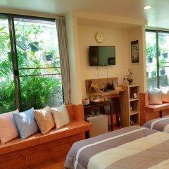 Отель OYO 812 Nature House Бангкок гостиничный бар