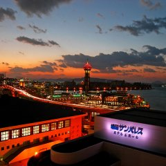 Fukuoka Sunpalace Hotel And Hall Порт Хаката пляж