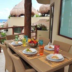 Maya Villa Condo Hotel And Beach Club Плая-дель-Кармен балкон