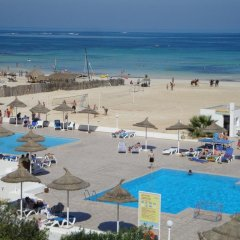 Отель Club Calimera Yati Beach пляж