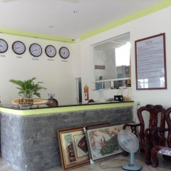 Отель Mai Binh Phuong Bungalow интерьер отеля