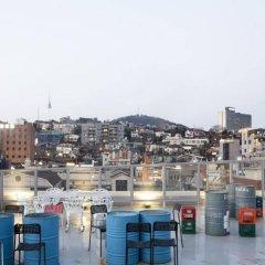 Отель G Guesthome Itaewon - Seoul Южная Корея, Сеул - отзывы, цены и фото номеров - забронировать отель G Guesthome Itaewon - Seoul онлайн приотельная территория