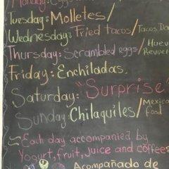Отель Hostal Cuija Coyoacan Мексика, Мехико - отзывы, цены и фото номеров - забронировать отель Hostal Cuija Coyoacan онлайн интерьер отеля фото 3