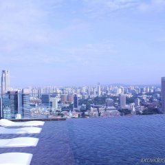 Отель Marina Bay Sands пляж