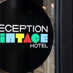 Hotel Vintage Airstream Брюссель интерьер отеля
