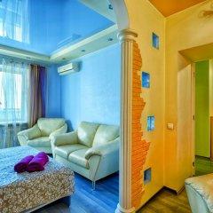 Апартаменты Delegatskaya Apartment Москва комната для гостей