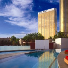 Отель Delano Las Vegas at Mandalay Bay бассейн