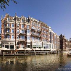 Отель De L europe Amsterdam The Leading Hotels Of The World Амстердам приотельная территория