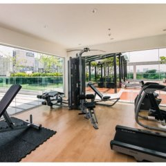 Отель Tc Green By Jummie Бангкок фитнесс-зал