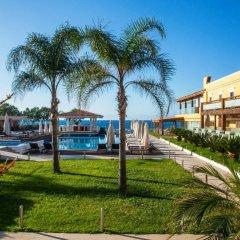 Отель Villa Di Mare Seaside Suites пляж фото 2
