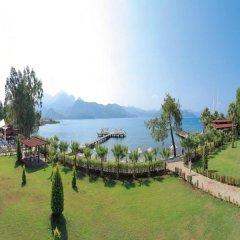 Marmaris Resort & Spa Hotel Турция, Кумлюбюк - отзывы, цены и фото номеров - забронировать отель Marmaris Resort & Spa Hotel онлайн приотельная территория фото 2