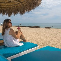 Little Beach Hoi An. A Boutique Hotel & Spa пляж фото 2