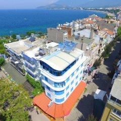 Отель Mavi Inci Park Otel пляж фото 2