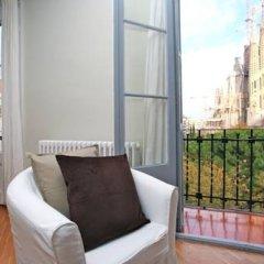 Апартаменты BarcelonaForRent Sagrada Familia Apartments Барселона балкон