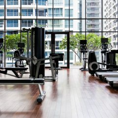 Отель Hansar Bangkok фитнесс-зал фото 3