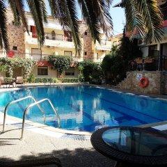 Отель Pelli Hotel Греция, Пефкохори - отзывы, цены и фото номеров - забронировать отель Pelli Hotel онлайн бассейн