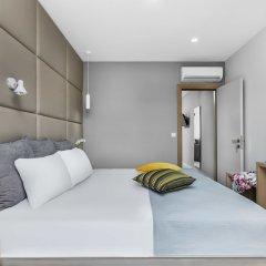Отель Nymphes Deluxe Accommodation Греция, Пефкохори - отзывы, цены и фото номеров - забронировать отель Nymphes Deluxe Accommodation онлайн комната для гостей фото 4