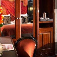 Отель Belmont Paris Франция, Париж - 9 отзывов об отеле, цены и фото номеров - забронировать отель Belmont Paris онлайн удобства в номере фото 2