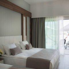 Port Nature Luxury Resort Hotel & Spa Богазкент комната для гостей фото 4