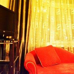 Гостиница Pathos na EXPO комната для гостей фото 5