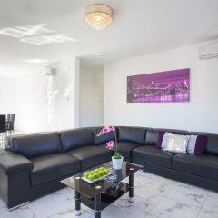Отель Villa Hollywood Кипр, Протарас - отзывы, цены и фото номеров - забронировать отель Villa Hollywood онлайн комната для гостей фото 3