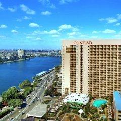 Отель Conrad Cairo пляж