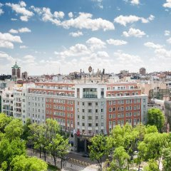 Отель InterContinental Madrid балкон