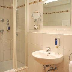 Отель Andi Stadthotel Германия, Мюнхен - 1 отзыв об отеле, цены и фото номеров - забронировать отель Andi Stadthotel онлайн ванная фото 2