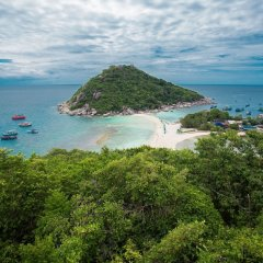 Отель The Ozo Koh Tao пляж фото 2
