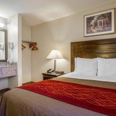 Отель Comfort Inn Monterey Park Монтерей-Парк комната для гостей