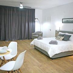 Отель Corina Suites and Apartments Кипр, Лимассол - 1 отзыв об отеле, цены и фото номеров - забронировать отель Corina Suites and Apartments онлайн комната для гостей фото 4