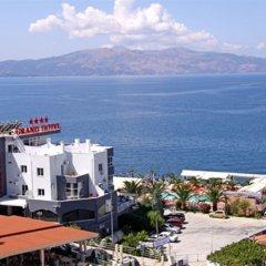 Отель Grand Saranda Албания, Саранда - отзывы, цены и фото номеров - забронировать отель Grand Saranda онлайн пляж фото 2
