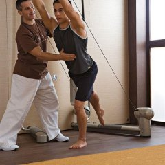 Отель Mandarin Oriental, Hong Kong фитнесс-зал фото 4