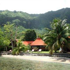 Отель Fare Vaihere Французская Полинезия, Муреа - отзывы, цены и фото номеров - забронировать отель Fare Vaihere онлайн приотельная территория фото 2