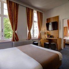 Отель Jacobs Brugge комната для гостей