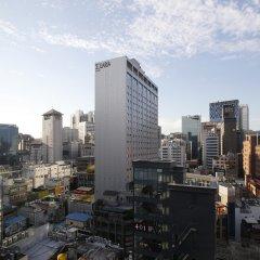 Отель Solaria Nishitetsu Hotel Seoul Myeongdong Южная Корея, Сеул - 1 отзыв об отеле, цены и фото номеров - забронировать отель Solaria Nishitetsu Hotel Seoul Myeongdong онлайн балкон