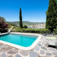 Отель Villa With 3 Bedrooms in Lamego, With Wonderful Mountain View, Private бассейн фото 2