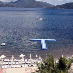 Luna Beach Deluxe Hotel Турция, Мармарис - отзывы, цены и фото номеров - забронировать отель Luna Beach Deluxe Hotel онлайн приотельная территория